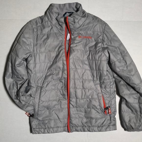 Columbia jackets coats omni heat reflective puffer jacket kids jpg 580x580  Omni heat reflective fd406606a36